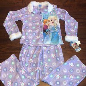NWT Disney Frozen Pajamas